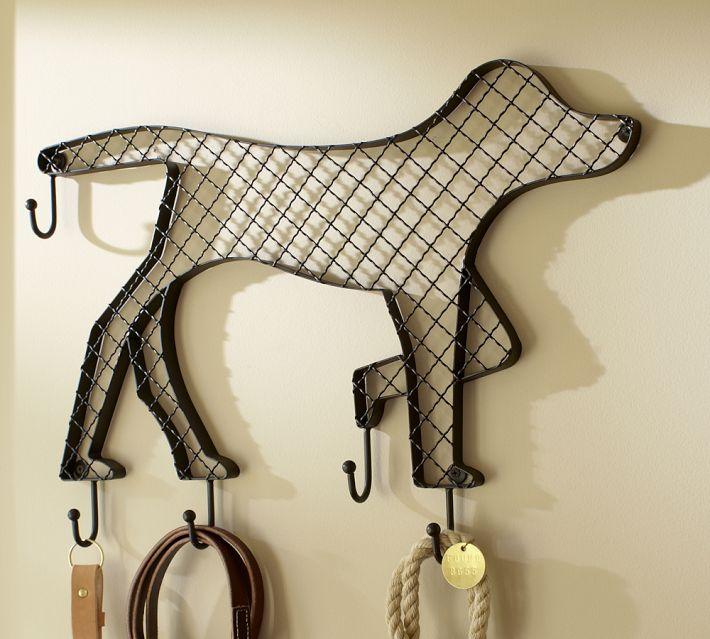Doggie Row of Hooks