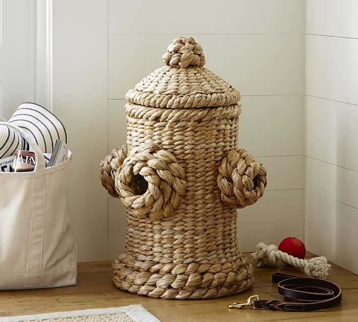 Fire Hydrant Pet Toy Basket