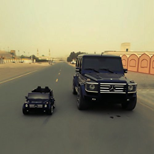 Kids Mercedes-Benz G55 AMG