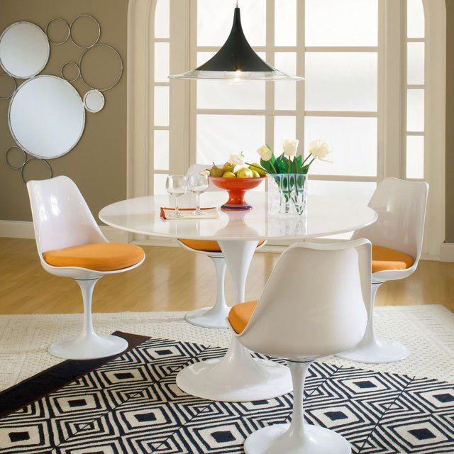 LexMod Eero Saarinen Style Tulip Side Chair