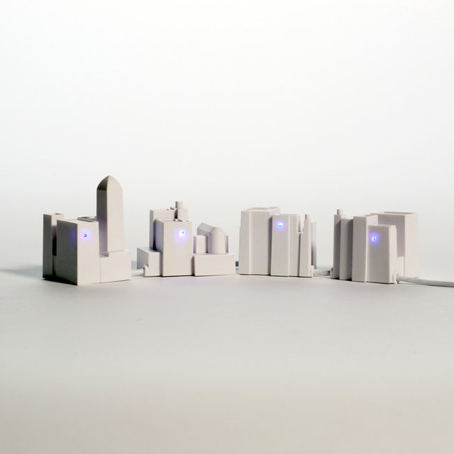 Lonely City USB Hub by David Weeks