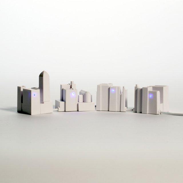 Lonely City USB Hub by David Weeks