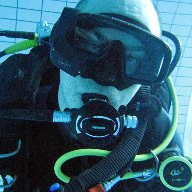 Oceanic Datamask HUD Air Integrated Dive Mask