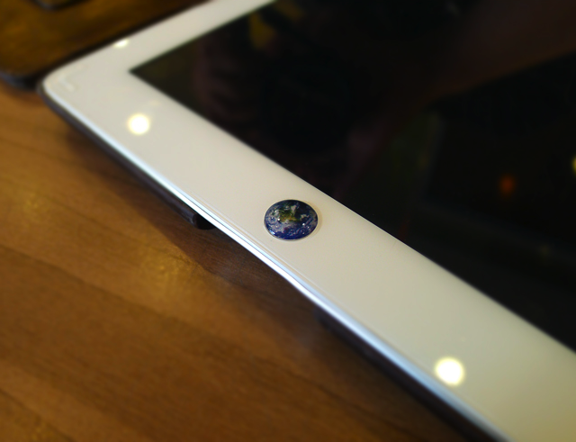 Planet Earth Home Button Sticker