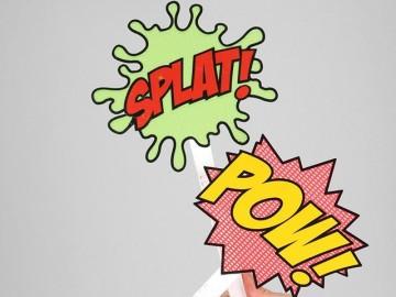 Pow & Splat Flyswatter Set