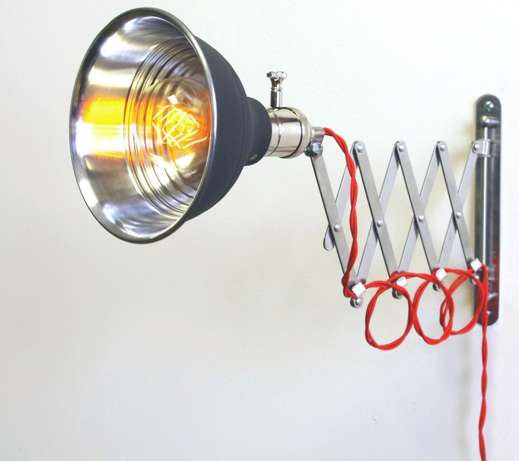 Scissor Extention Wall Lamp