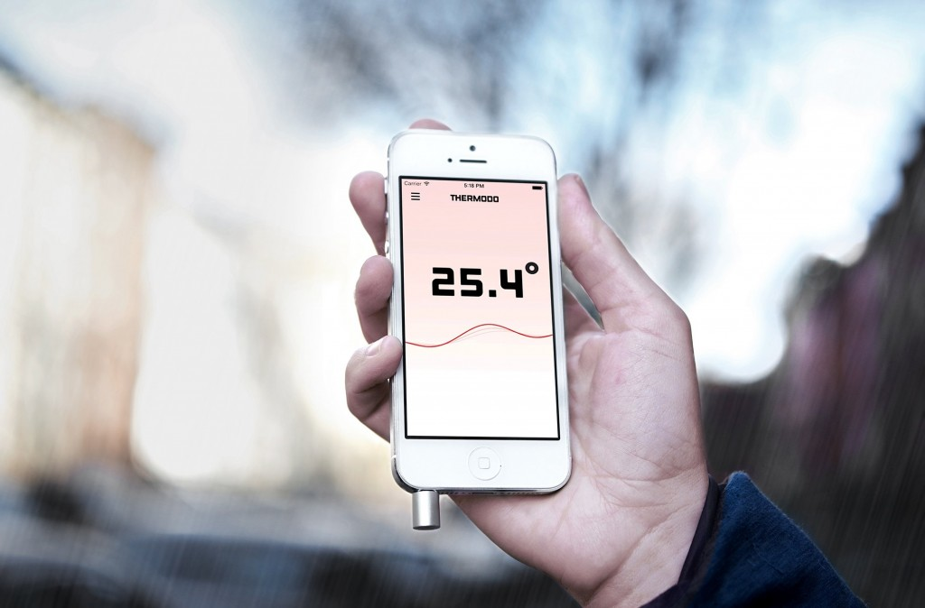 Smartphone Temperature Sensor by Thermodo
