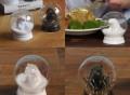 Snow Globe Salt & Pepper Shak CAMERA