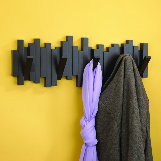 Sticks Multi-Hook Wall-Mount Rack