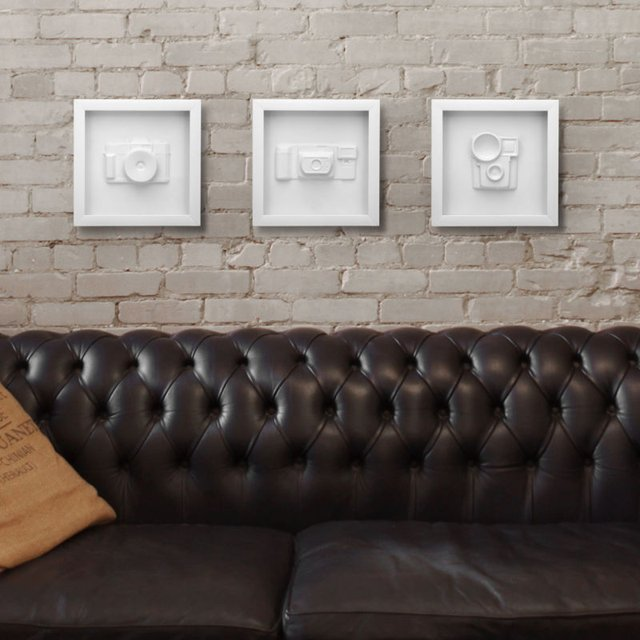 Vintage Camera Mold Wall Decor