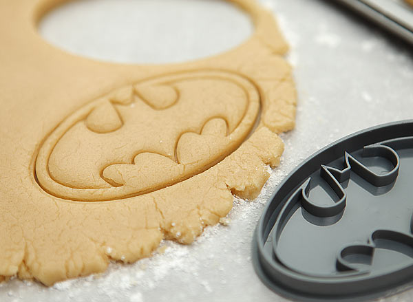 Batman Logo Cookie Cutter Stamp