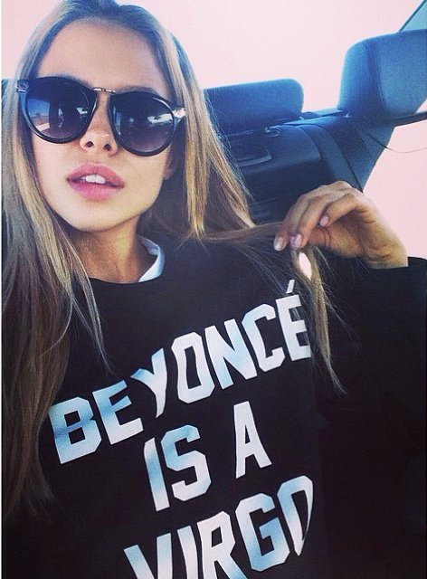 Beyoncé is a Virgo Sweatshirt