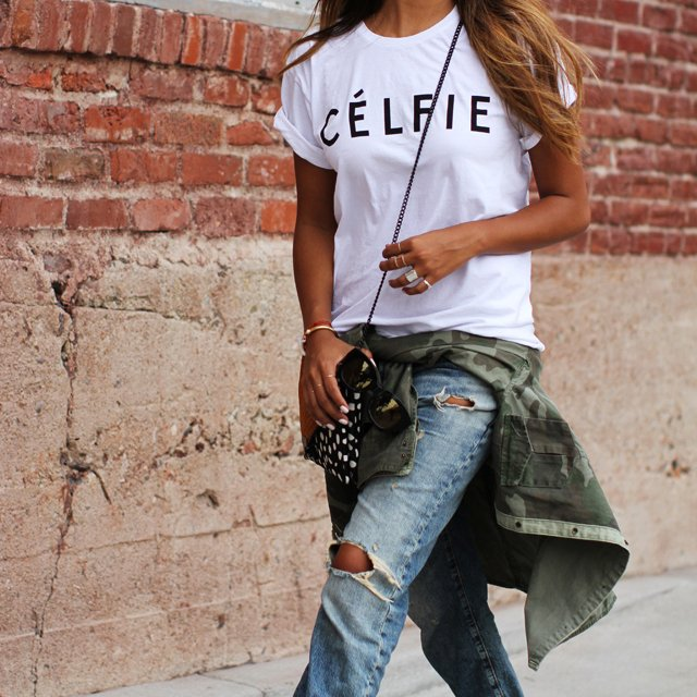 Celfie Tee by Sincerely Jules