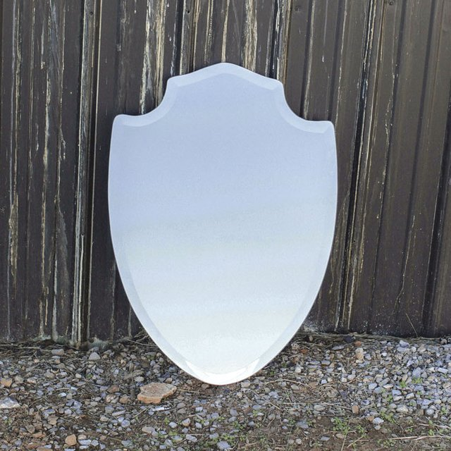 Crest Shaped Mirror