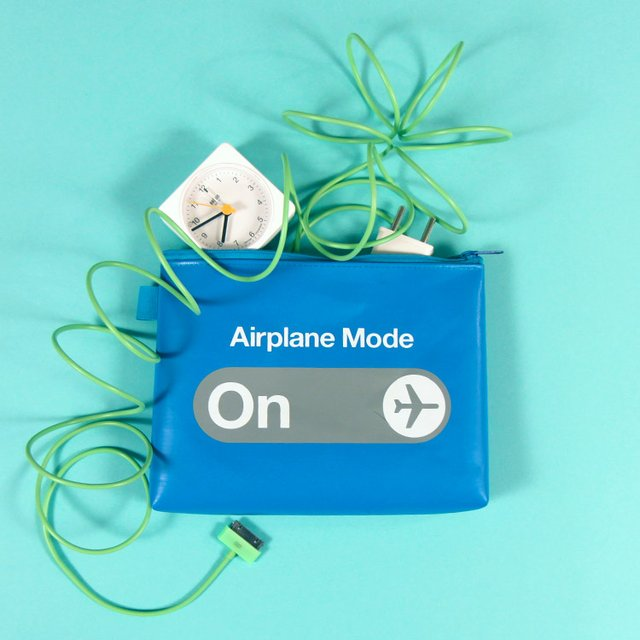 F1 Airplane Mode Pouch