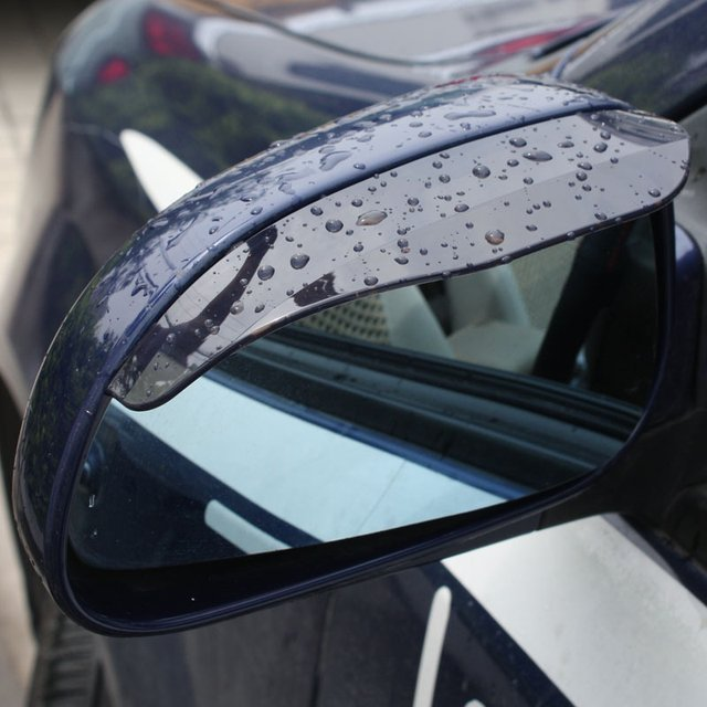 Flexible PVC Car Side Mirror Rain Shade