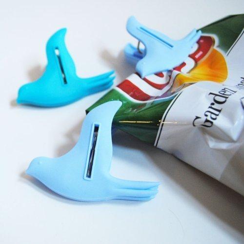 Flying Bird Bag Clips