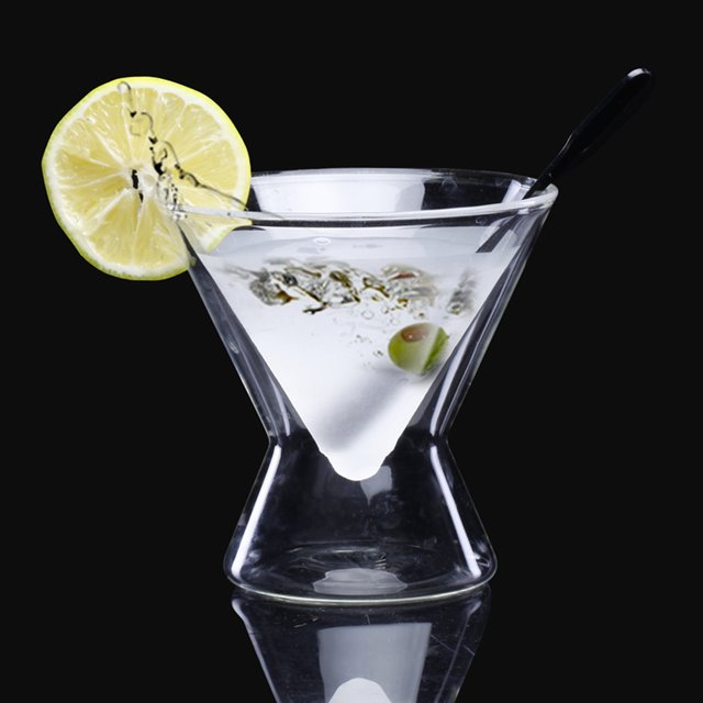 Frosted la MarTini Glass by Highwave