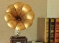 Handmade Iron Retro Phonograph Model