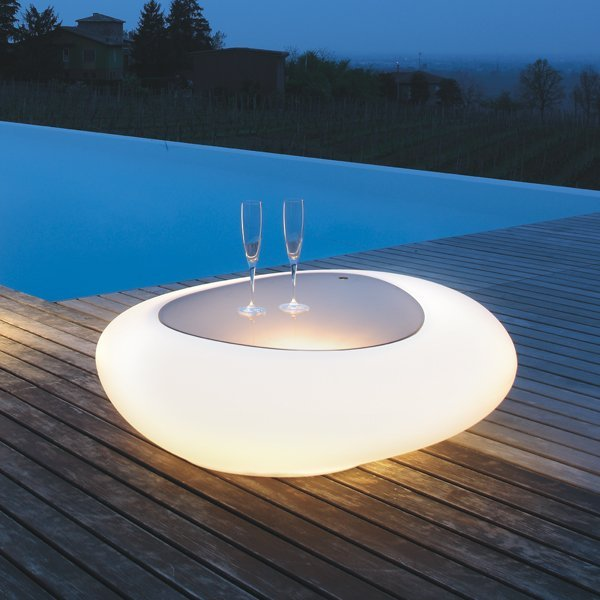 Kos Coffee Table with Light
