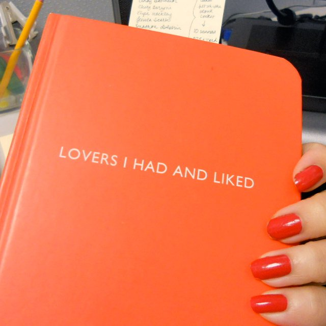 Lovers I Had and Liked Notebook