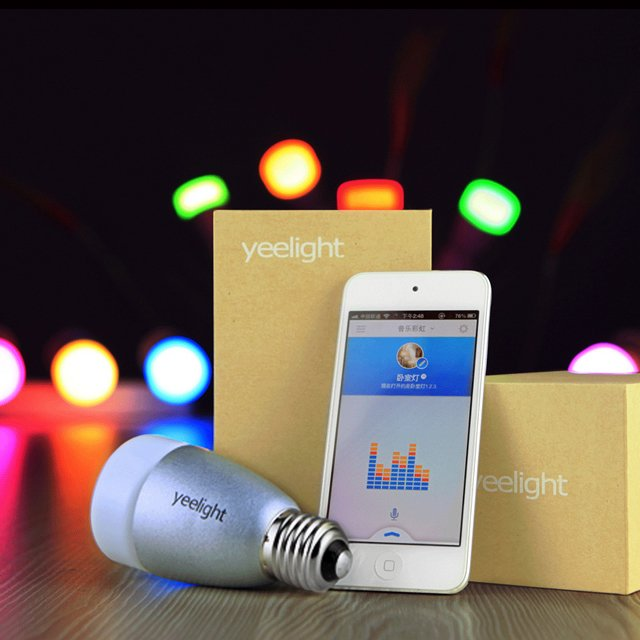 Mobile Phone Controlled BLE Seven Colors LED