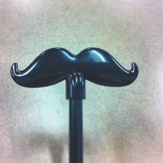 Moustache Pencil Topper