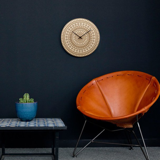 Ornament Clock by House Industries x Heath Ceramics