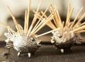 Puffer Fish Toothpick Holder