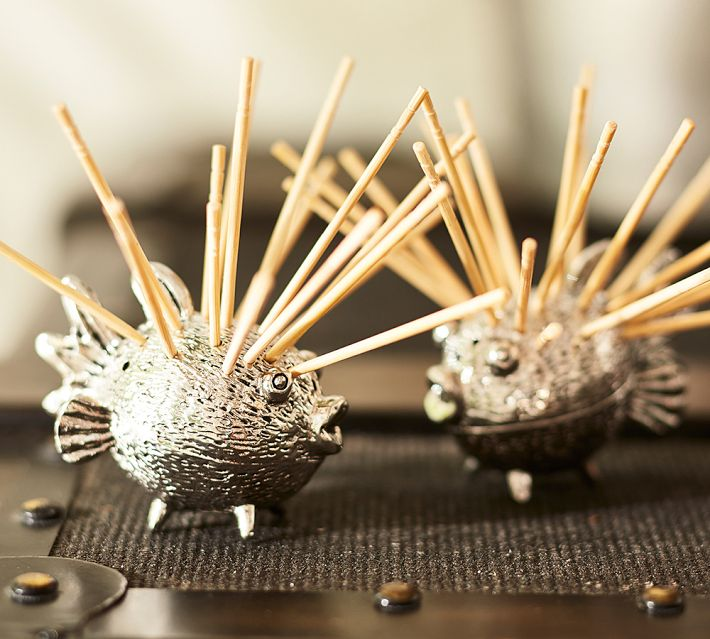 Puffer Fish Toothpick Holder