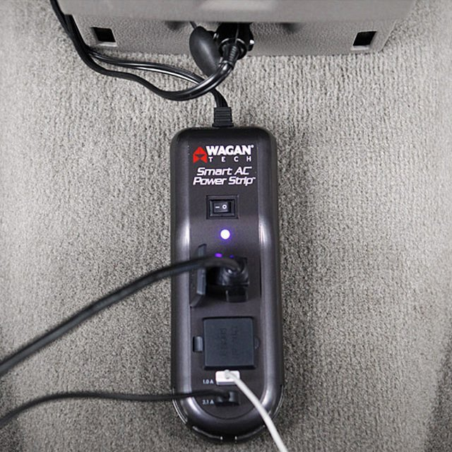 Smart AC Automotive Power Strip