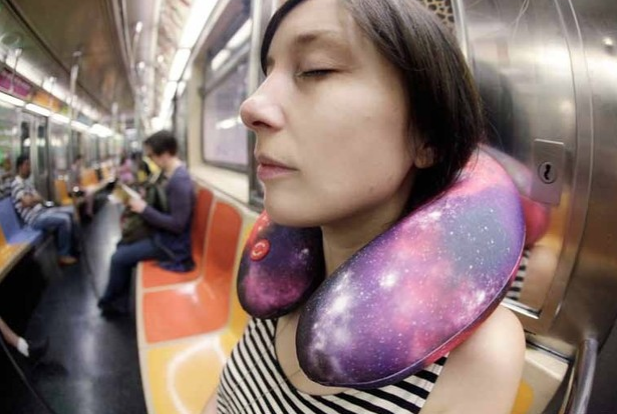 Space Vibrating Neck Pillow