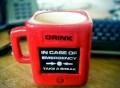 Take a Break Emergency Mug