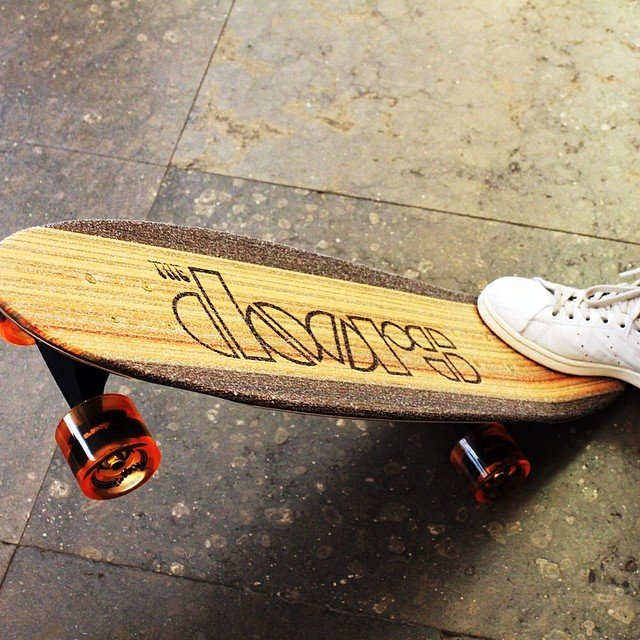 The Doors Skateboard
