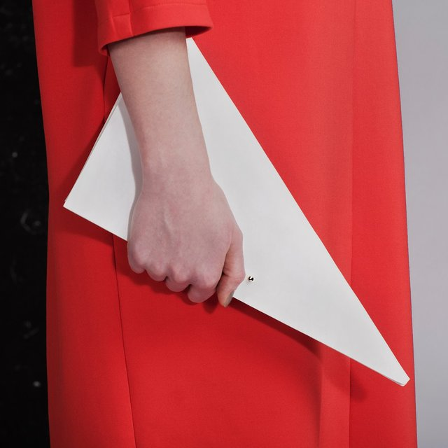 Triangle Folded Clutch by Clean Everything