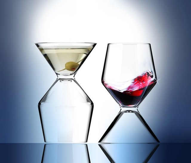 Vino-Tini 2-in-1 Glass