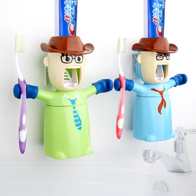 Warriors Toothpaste Dispenser & Holder