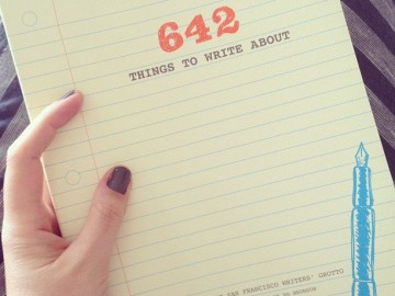 642 Things to Write About Journal