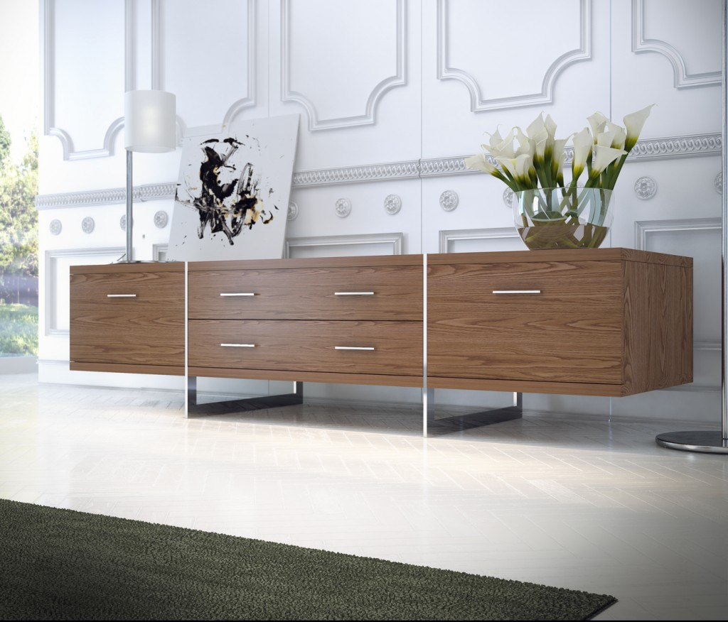 Allen Media Cabinet by Modloft
