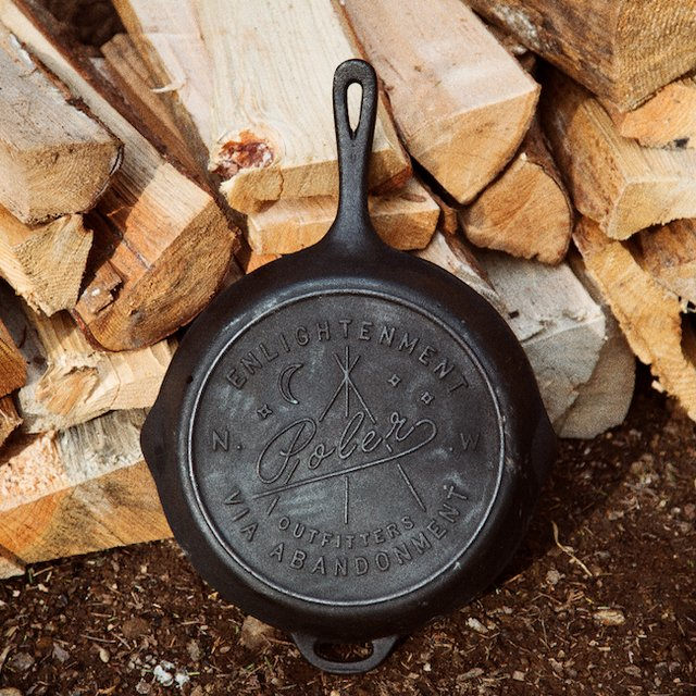 Cast Iron Skillet by Poler