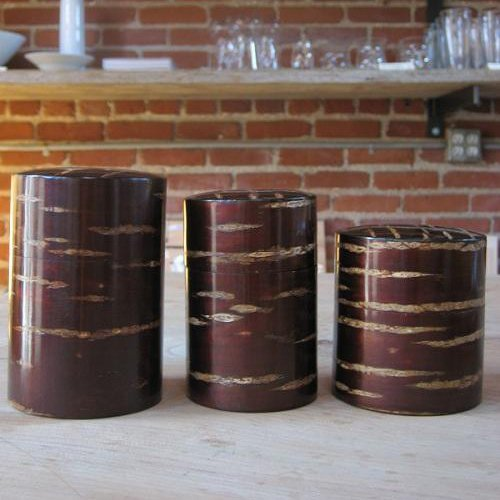 Cherry Bark Canisters