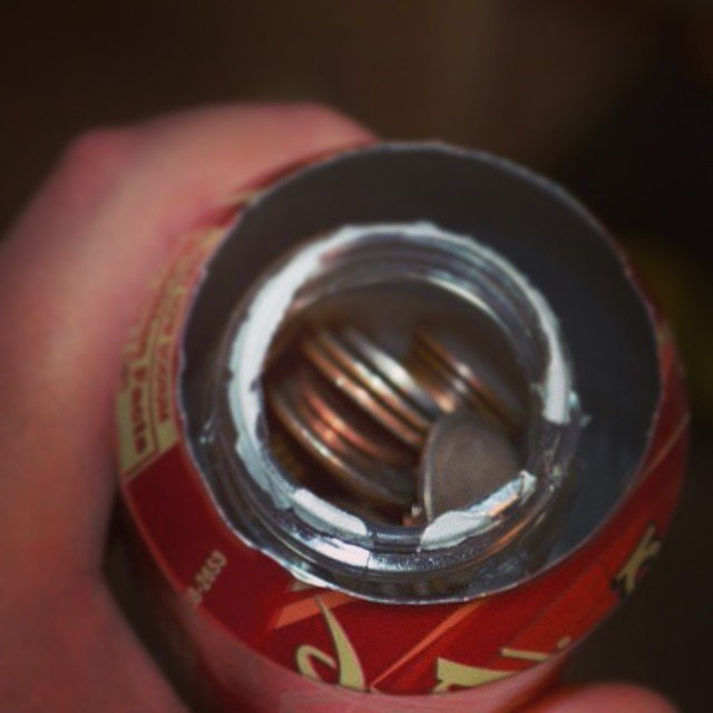 Coca Cola Can Stash Safe