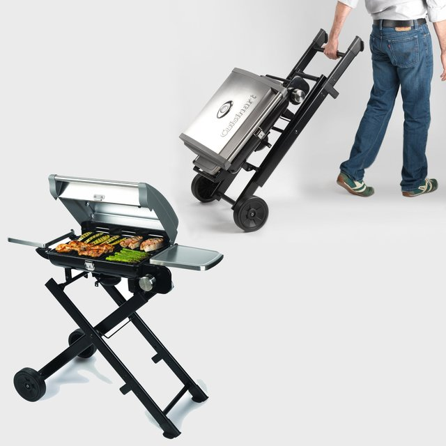 Charmant Cuisinart All Foods Portable Propane Grill