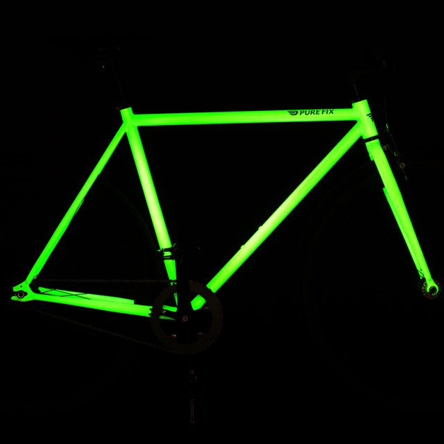 Glow in the Dark Fixed Gear Bike by Pure Fix
