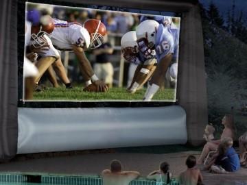 Inflatable Jumbo Tron Movie Screen