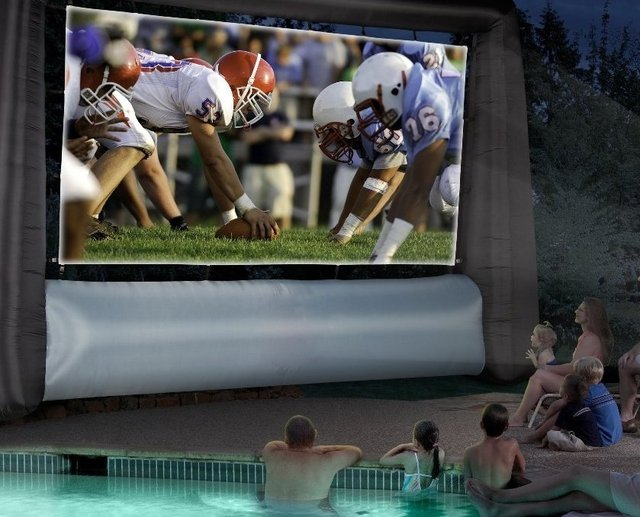 Inflatable Jumbo Tron Movie Screen