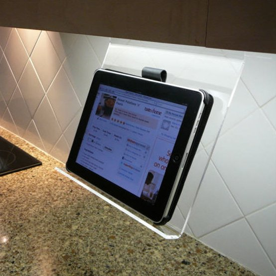 Kitchen iPad Holder