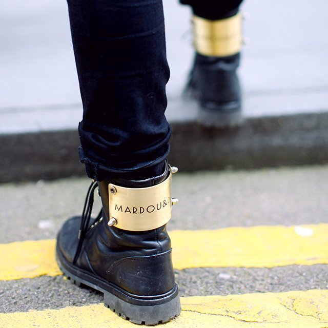 Lace-Up Boots by Mardou & Dean