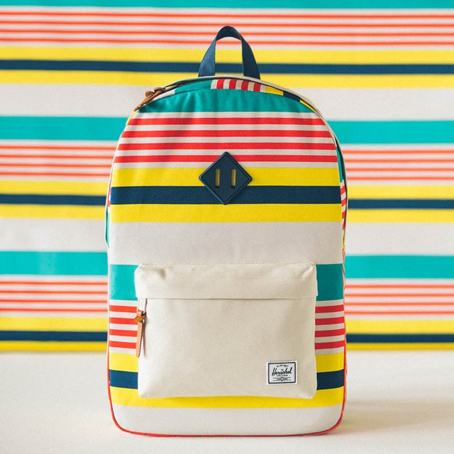 Malibu Stripe Heritage Backpack by Herschel Supply Co.