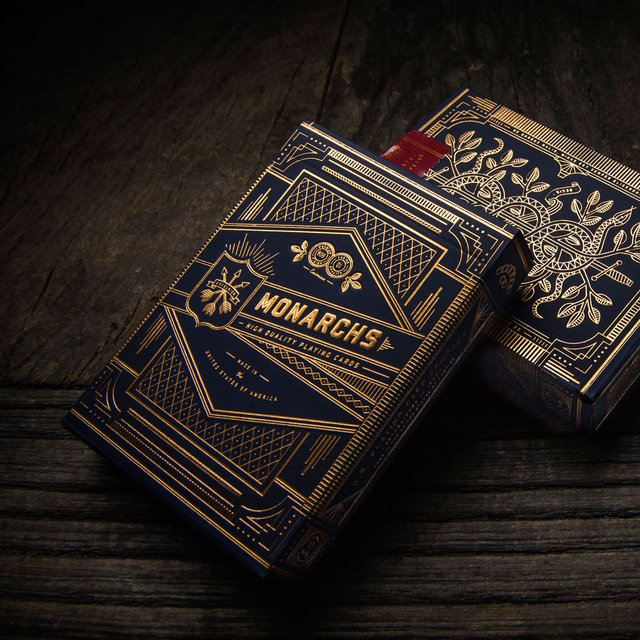 Monarchs Playing Cards by Theory 11